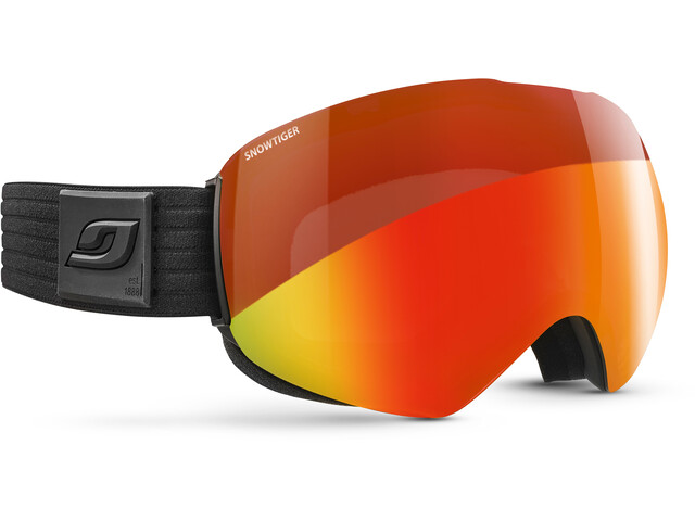 Julbo Skydome, black/snow tiger/multilayer fire